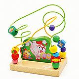 Лабиринт Нюша-кулинар, Мир деревянных игрушек
