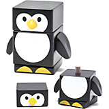 Пирамидка Пингвин, Мир деревянных игрушек