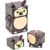 Пирамидка Сова, Мир деревянных игрушек