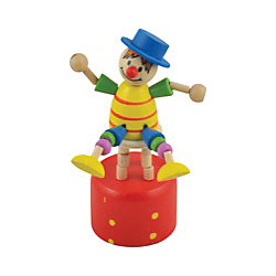 Дергунчик Клоун на стуле, Мир деревянных игрушек