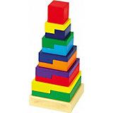 Пирамида Квадрат, Мир деревянных игрушек