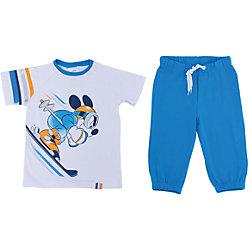 Комплект: футболка и бриджи для мальчика PlayToday