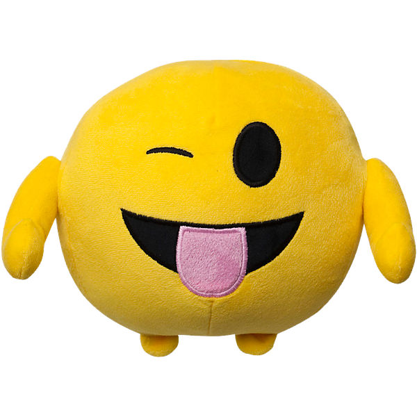 Imoji Plüschfigur in Ballform Funny Tongue, 18cm