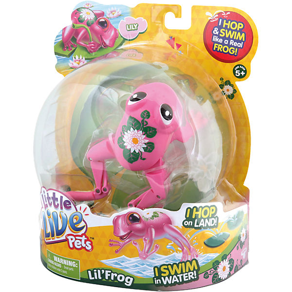 Little Live Pets 33927, Frosch Lily