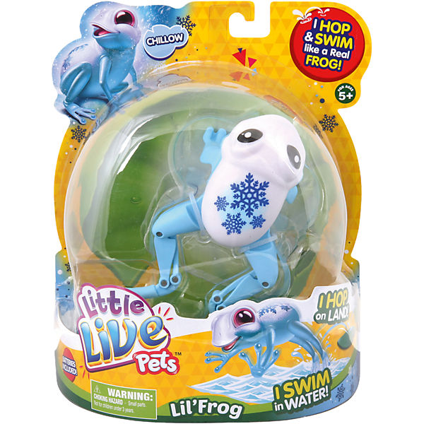 Little Live Pets 33928, Frosch Chillow Cool