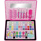Большой Игровой набор детской декоративной косметики в кейсе, Barbie