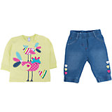 Комплект: толстовка и брюки для девочки PlayToday
