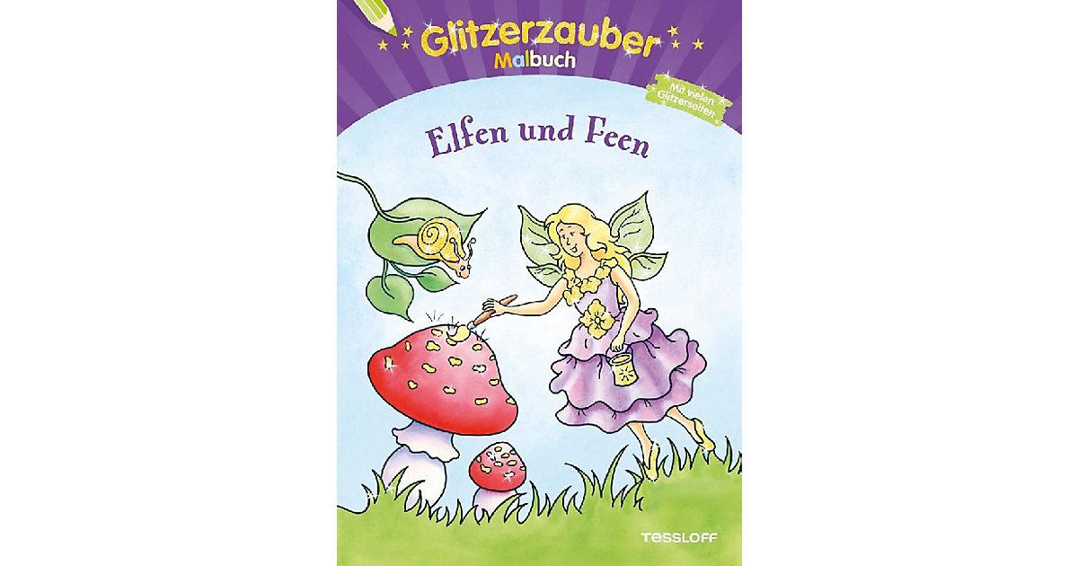 Buch - Glitzerzauber Malbuch: Elfen und Feen