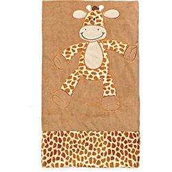 Плед велюр 80х80 Жираф , Динглисар, Teddykompaniet