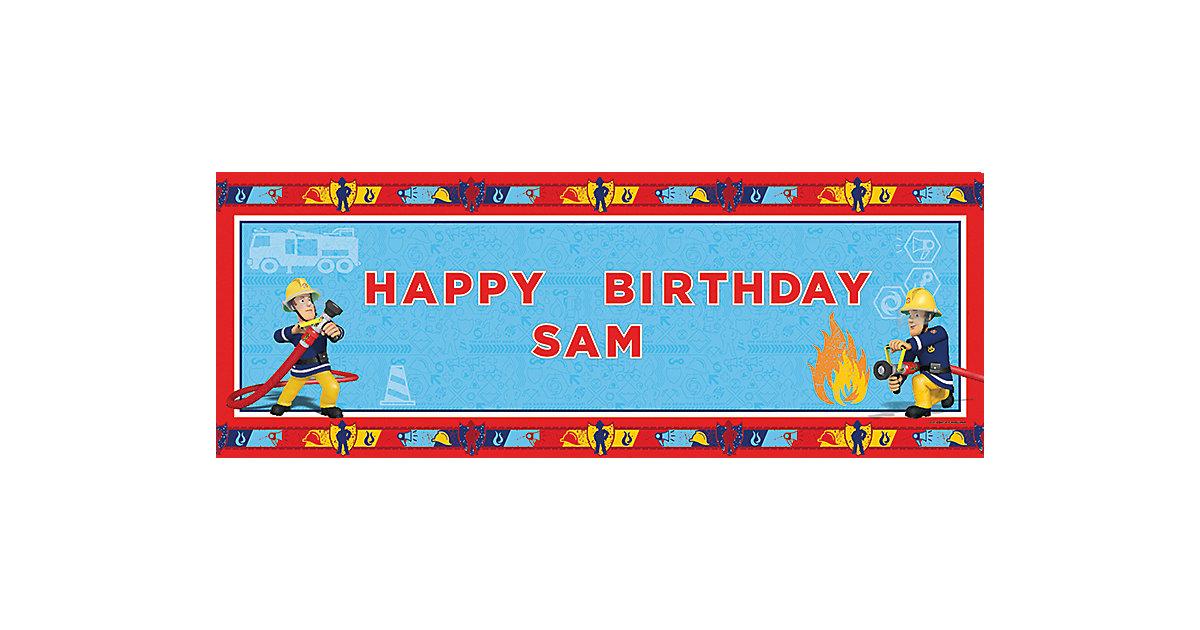 Banner Feuerwehrmann Sam