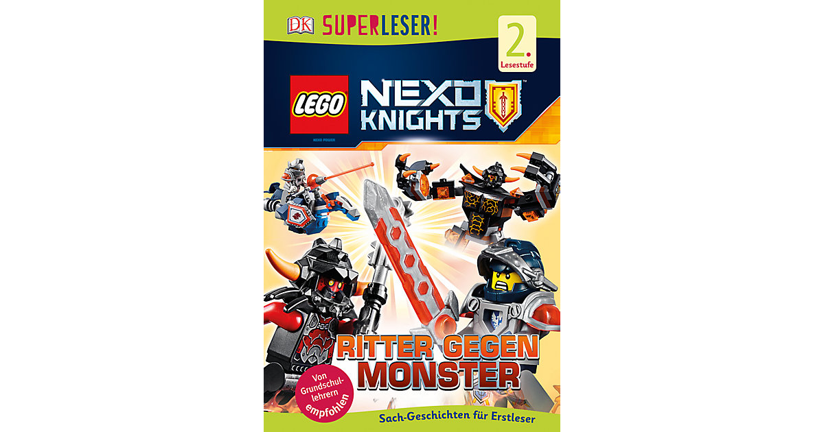 Ritterburg Holz Universe Of Imagination ~ LEGO  Buch  SUPERLESER! LEGO NEXO KNIGHTS Ritter gegen Monster, 1