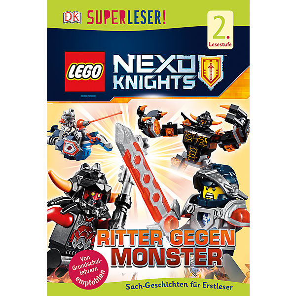 SUPERLESER! LEGO NEXO KNIGHTS: Ritter gegen Monster, 1./2. Klasse
