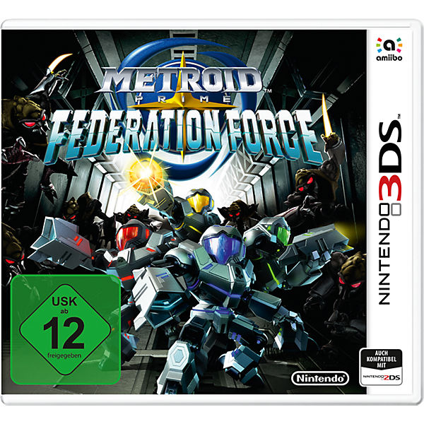 3DS Metroid Prime: Federation Force