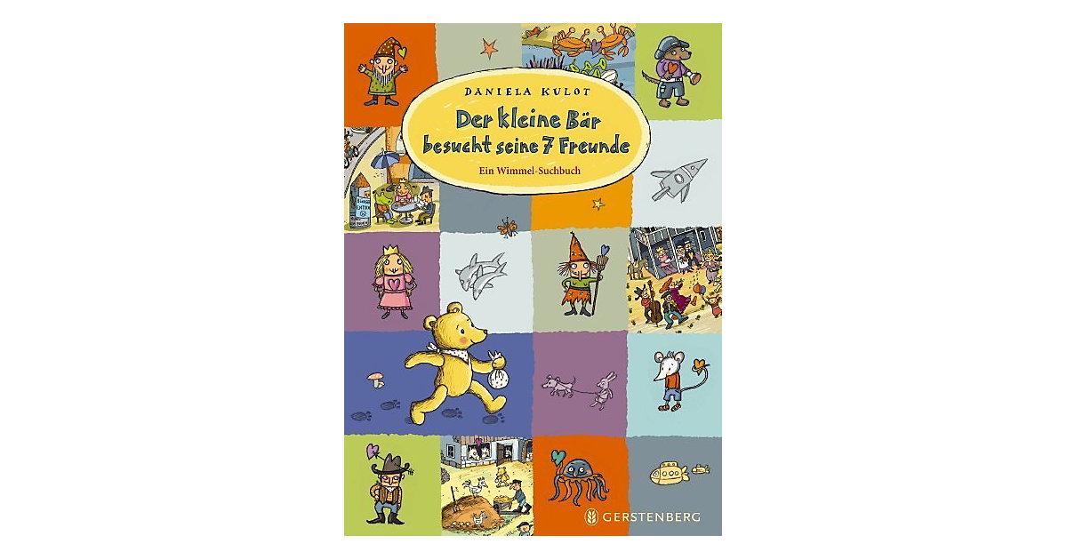Buch - Der kleine Bär besucht seine 7 Freunde, Wimmelbuch