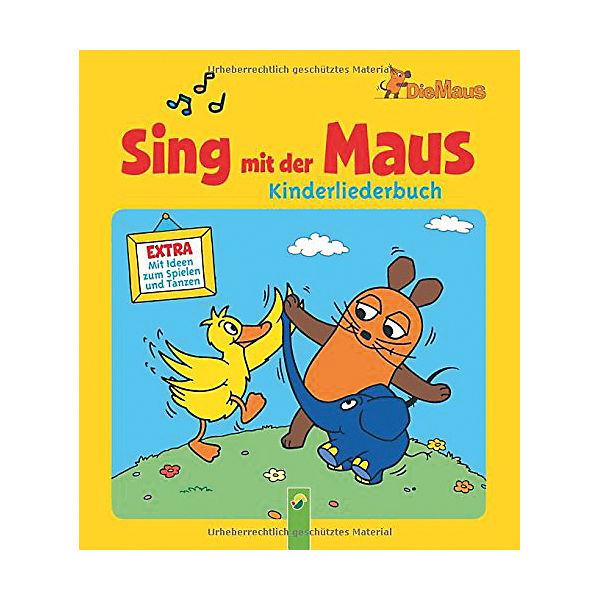 sing mit der maus kinderliederbuch schwager steinlein verlag mytoys. Black Bedroom Furniture Sets. Home Design Ideas