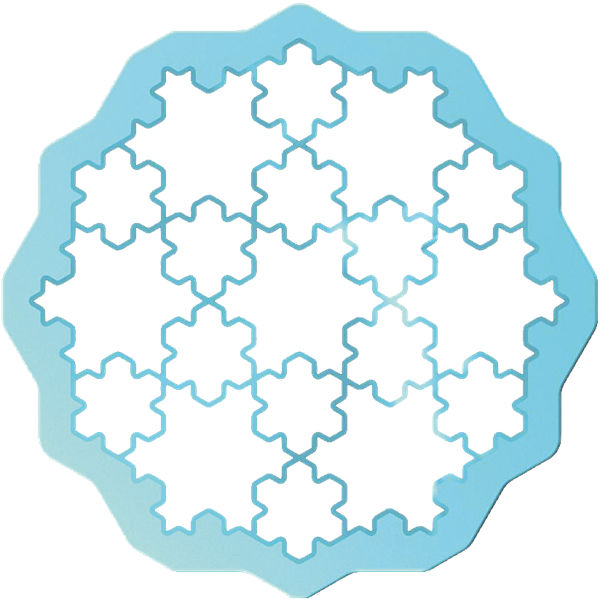 Cookie Puzzle Snow