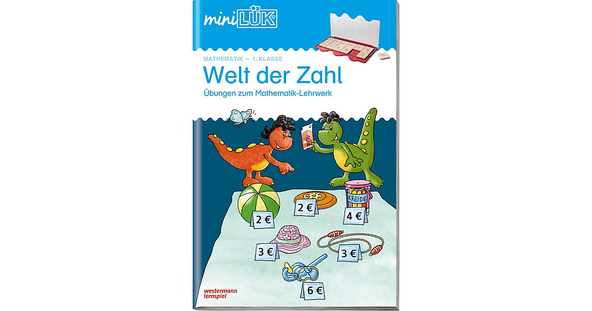 Buch - mini LÜK, Übungshefte: Welt der Zahl 1. Klasse