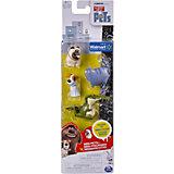 Мини-фигурки 4 шт. Крокодил, Макс, Мэл и Хлоя, Тайная жизнь домашних животных