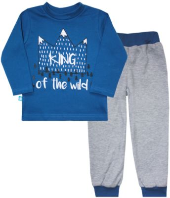 Пижама для мальчика КотМарКот - синий