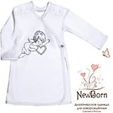 Крестильная рубашка с шитьем, р-р 74,  NewBorn, белый