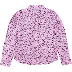 Розовая блузка для девочки купить