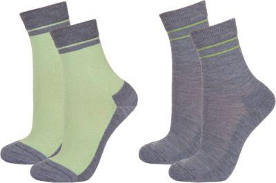 Термоноски: 2 пары Janus - зеленый
