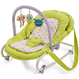 Шезлонг Nesty, Happy Baby, зеленый