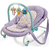 Шезлонг Nesty, Happy Baby, фиолетовый