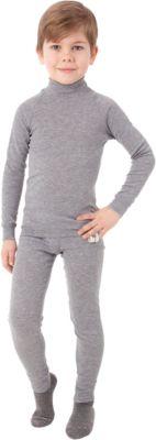 Комплект: футболка с длинным рукавом и брюки Island Cup - серый
