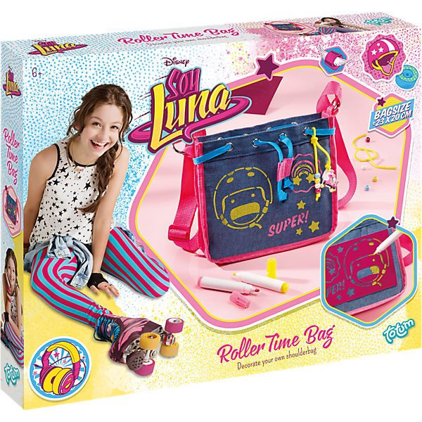 soy luna roller time umh ngetasche disney soy luna mytoys. Black Bedroom Furniture Sets. Home Design Ideas