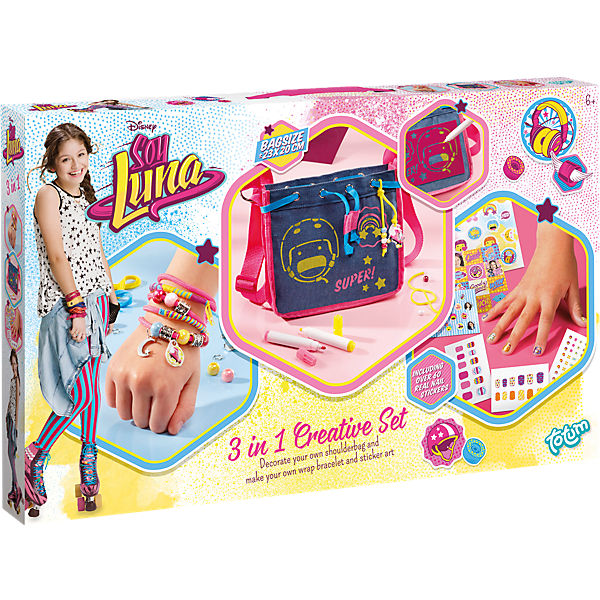 Soy Luna 3 in 1 Creativity Set