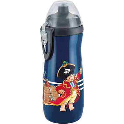 Trinkflasche Sports Cup, PP, 450 ml, Push-Pull-Tülle, Capt'n Sharky