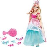 Кукла большого размера с длинными волосами, Barbie
