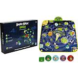 Музыкальный коврик-игра дартс, 4 мячика, Angry Birds