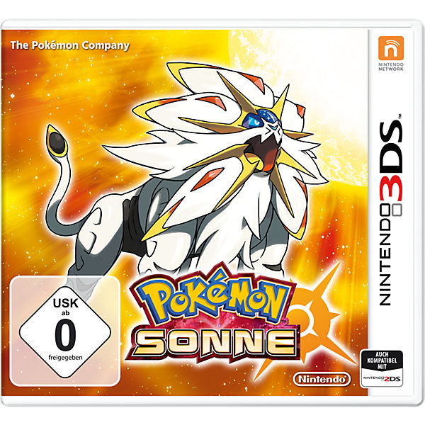 3DS Pokemon Sonne