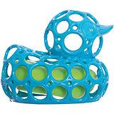 """Игрушка для ванны """"Уточка"""", голубая, Oball"""