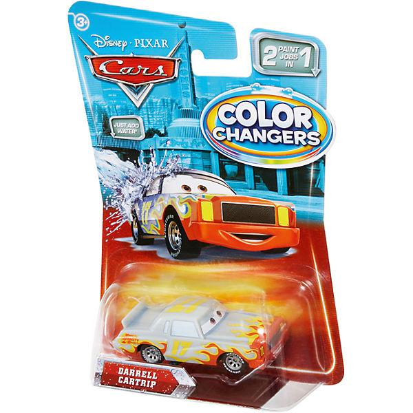 Машинка, меняющая цвет, Тачки