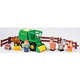 """Игровой набор """"Уборка урожая"""", John Deere, Tomy"""