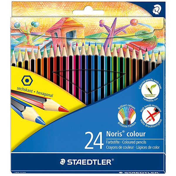 Карандаш цветные Noris Colour, 24 цв