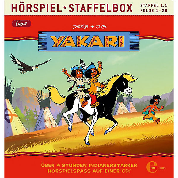 CD Yakari - Staffelbox (1.1)