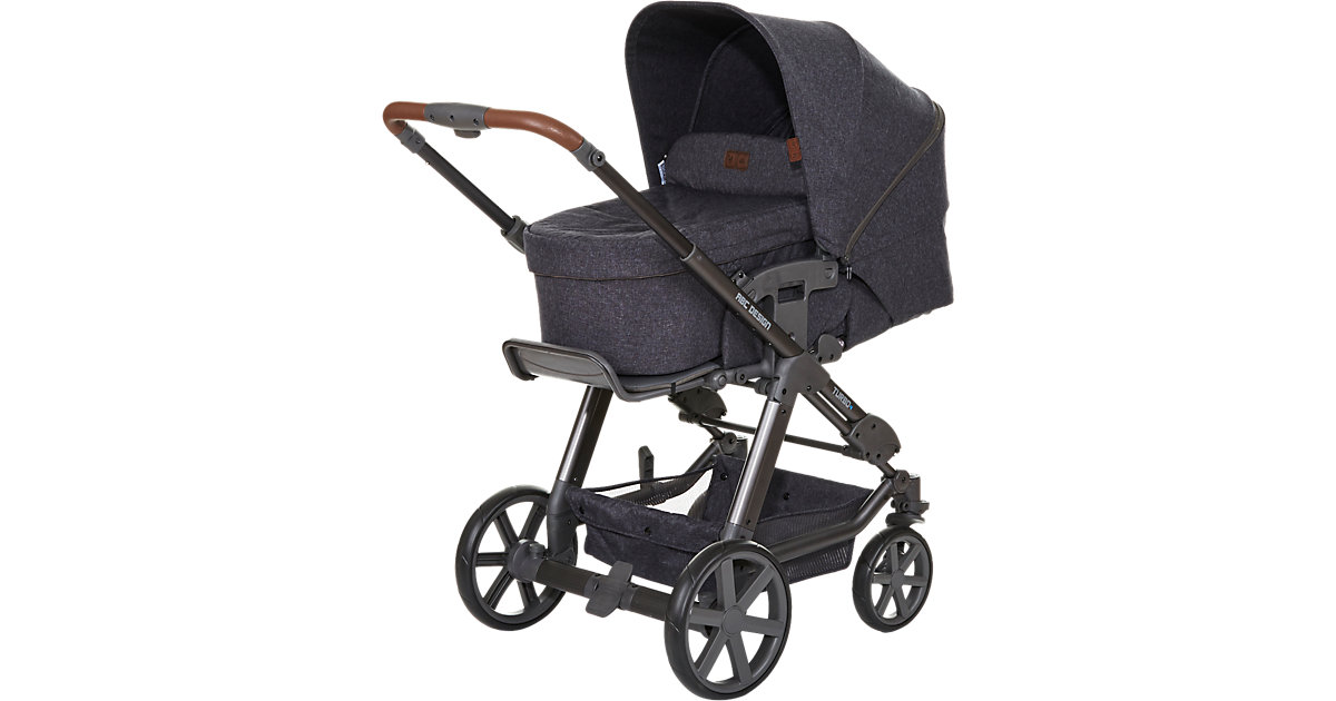 Kombi Kinderwagen Turbo 4, street, 2017 anthrazit-grau