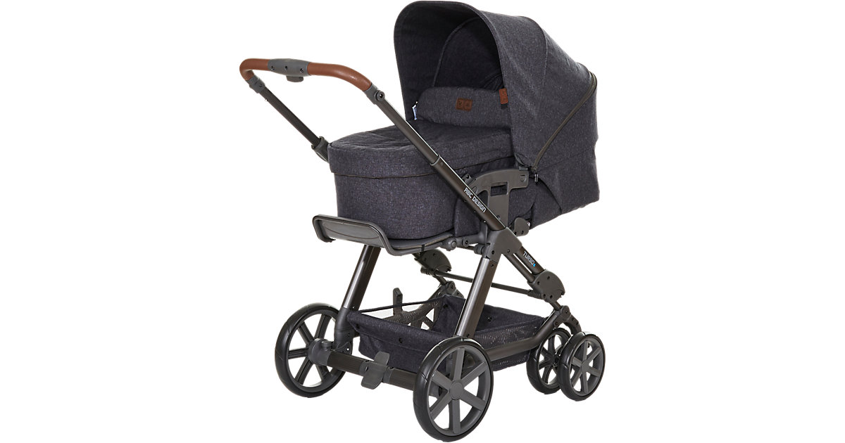Kombi Kinderwagen Turbo 6, street, 2017 anthrazit-grau