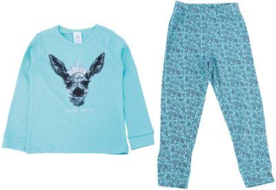 Пижама для девочки SELA - голубой