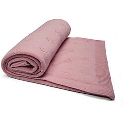 Плед Карамелька, Сонный гномик, розовый