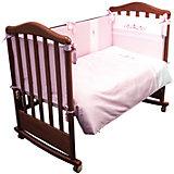 Постельное белье Прованс 6 пред, Сонный гномик, розовый