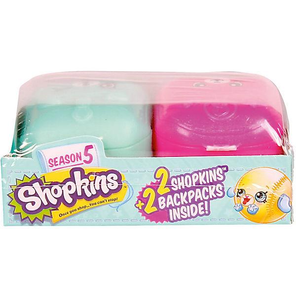 Две фигурки в рюкзачках, Shopkins