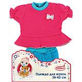 Одежда для куклы 42 см, кофоточка и шортики, Mary Poppins, в ассортименте