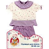 Одежда для куклы 42 см, кофточка и брючки, Mary Poppins, в ассортименте