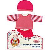 Одежда для куклы 42 см, кофточка, брючки и шапочка, Mary Poppins, в ассортименте