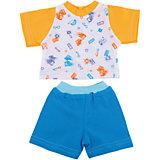 Одежда для куклы 42 см, футболка и шортики, Mary Poppins, в ассортименте